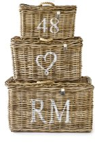 Rivièra Maison Rustic Rattan Classic RM Basket S/3 - Mand - Rattan