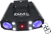 Ibiza Light - Combo 3in1 | MOONFLOWER-STROBE-LASER COMBINATIE