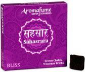 Aromafume Chakra Wierookblokjes: Sahasrara - kruin chakra