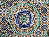 Vinyl Placemats | Blue dream | 6 stuks (1 gratis)