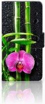 Huawei Y5 2018 Boekhoesje Design Orchidee
