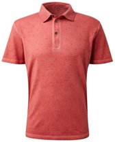 Tom Tailor - Heren Polo - Trendy Design - Oranje