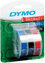 Dymo labelprinter-tapes 3D label tapes