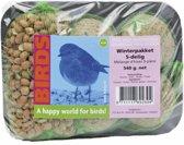 Birds Vogelvoer - Winterpakket - 5delig - 540 gr - Vetbol