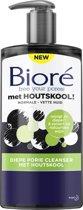 Biore cleanser met houtskool - 200 ml