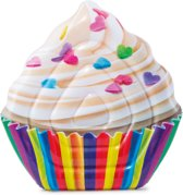 Cupcake opblaasbaar Intex 142x136 cm luchtbed