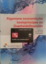 Algemene economische basisprincipes en overheidsfinancien