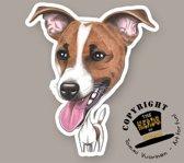 Magneet Hond Parson Russel Terrier