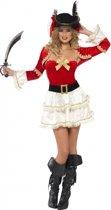 Sexy piraat kostuum voor dames S (36-38)