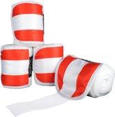 Polarfleecebandages -Flags- Set van 4 Vlag Oostenrijk 300 cm