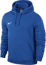 Nike Team Club Hooded Sweater Heren Sporttrui casual - Maat S  - Mannen - blauw