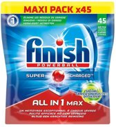 Finish Powerball All-in-1 Max Vaatwastabletten - 45 Stuks