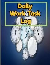 Daily Work Task Log
