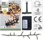 DecorativeLighting Micro Cluster Kerstverlichting - 16 meter - 800 LED's - Extra warm wit