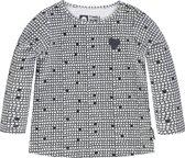 Tumble 'N Dry Meisjes Tshirt Peigi -  snow white  -  maat 86
