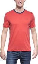 Icebreaker Tech - Heren - T-shirt - Maat M - rood