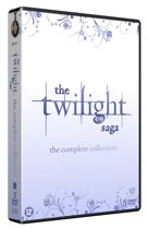 DVD cover van The Twilight Saga Complete Collection