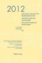 Schweizer Jahrbuch fuer Musikwissenschaft- Annales Suisses de Musicologie- Annuario Svizzero di Musicologia