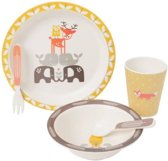 Fresk Dinner Set Bamboo Forest Animals