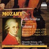 Mozart:Cello Sonatas Vol.1