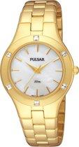 Pulsar PH8048X1 - Horloge - 30 mm - Goudkleurig