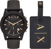 Armani Exchange Heren horloge  - Zwart