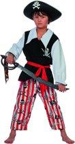 Carnavalskleding Piraat Schateiland kind Maat 116