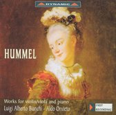 Hummel: Works for violin/viola & piano
