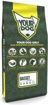Yourdog Basset Hound Volwassen - 12 KG