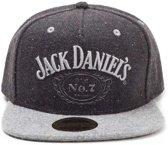 Jack Daniel's - zwarte logo snapback