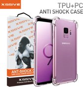 Xssive Back Cover voor Samsung Galaxy S9 - TPU - Anti Shock - Transparant