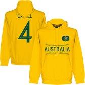 Australië Cahill 4 Team Hooded Sweater - Geel - L