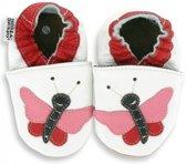 Hobea babyslofjes Schmetterling Pauline weiß