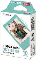Fujifilm Instax Mini Colorfilm - Blauw Frame - 10 stuks