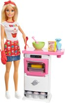 Barbie Cupcake Speelset