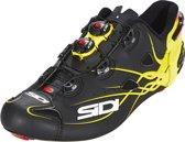 Sidi Shot Schoenen Heren, matt black/yellow fluo Schoenmaat EU 44,5
