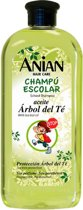 MULTI BUNDEL 4 stuks Anian School Shampoo With Tea Tree Oil 400ml