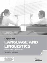 English for Language and Linguistics Teacher Book