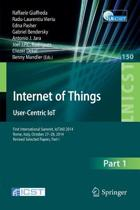 Internet of Things. User-Centric IoT