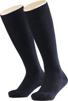 FALKE Comfort Wool Kinder Kniekous 11488 - 31-34 - Blauw