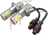 Car 50w 1800LM 6500k H7 LED Head Light Lamp Headlight Foglight Kit