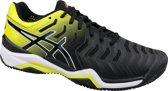 Asics Gel-Resolution 7 Clay E702Y-003, Mannen, Zwart, Tennisschoenen maat: 46 EU