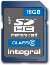 Integral SD Kaart - 16GB 20Mb/s