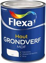 Flexa Mdf Grondverf Wit 0,75 Ltr