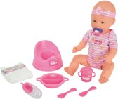 New Born Baby Doll can Drink and pee 8 PCs