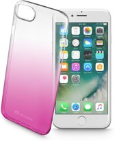Cellularline Shadow mobiele telefoon behuizingen 11,9 cm (4.7'') Hoes Roze, Transparant