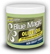 Blue Magic Olive Oil Leave in Styling Conditioner, 390g