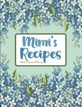 Mimi's Recipes Blue Flower Edition
