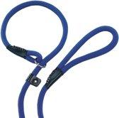 Nobby fun retriever lijn lijn en halsband in 1 blauw 1,3 x 170 cm - 1 st