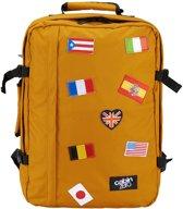 Cabin Zero Classic Flags 44L Ultra Light Cabin Bag Limited Edition orange chill